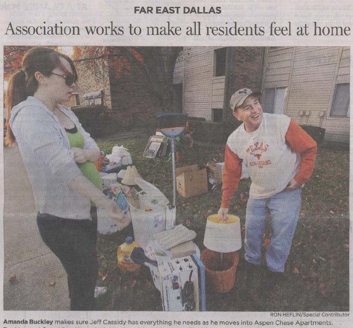 Far East Dallas neighbors welcome everyone -- including homeless