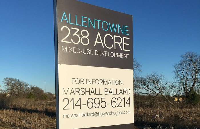 Howard Hughes ponders prime property in Allen for huge mixed-use project