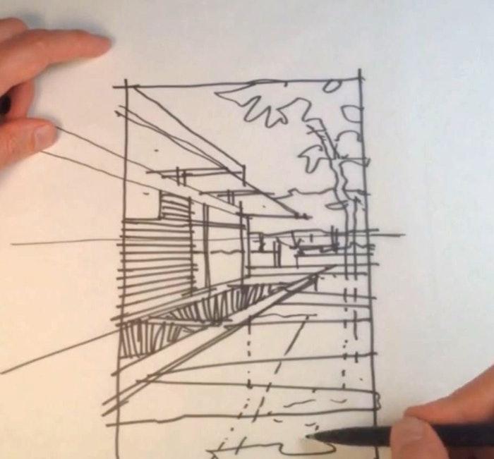 Sketching with John Yancey