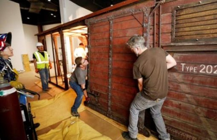Boxcar Restoration for Dallas Holocaust Museum Nears Completion