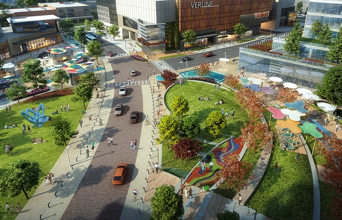 LandDesign Will Bring a Park to the Site of a Former Dallas Mall