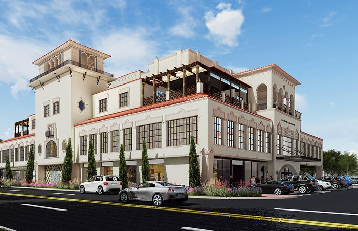 Highland Park Village is growing upward with its building on Preston