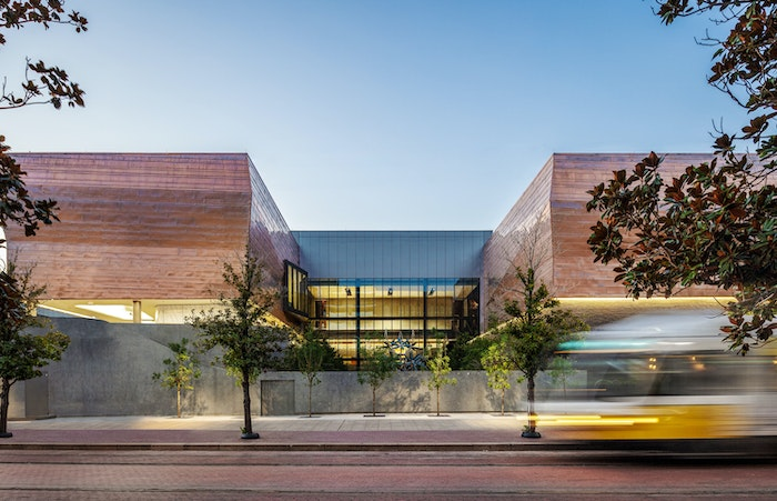The Dallas Holocaust and Human Rights Museum wins Best of Year in Facades Category