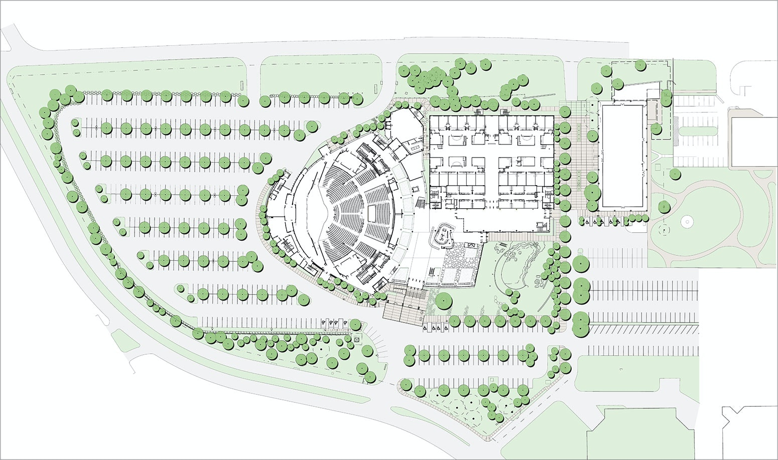 Watermark Community Church AwardWinning Design – Forge Wood Site Plan