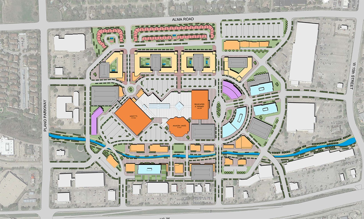 Collin Creek Mall Map OMNIPLAN