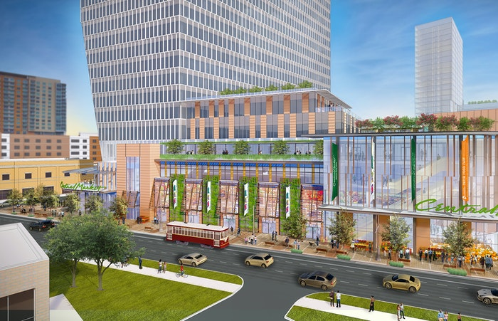 Uptown Dallas' new Central Market Store will anchor a high-rise mixed-use project