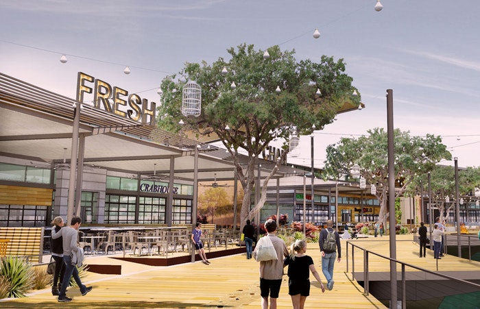 Granite Properties' The Boardwalk restaurant row gets underway in West Plano